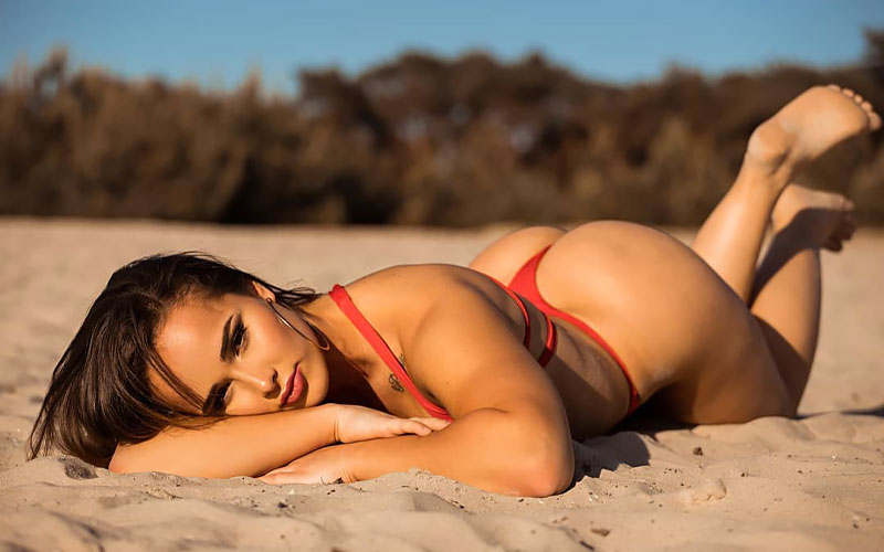 argentinian mail order bride on beach