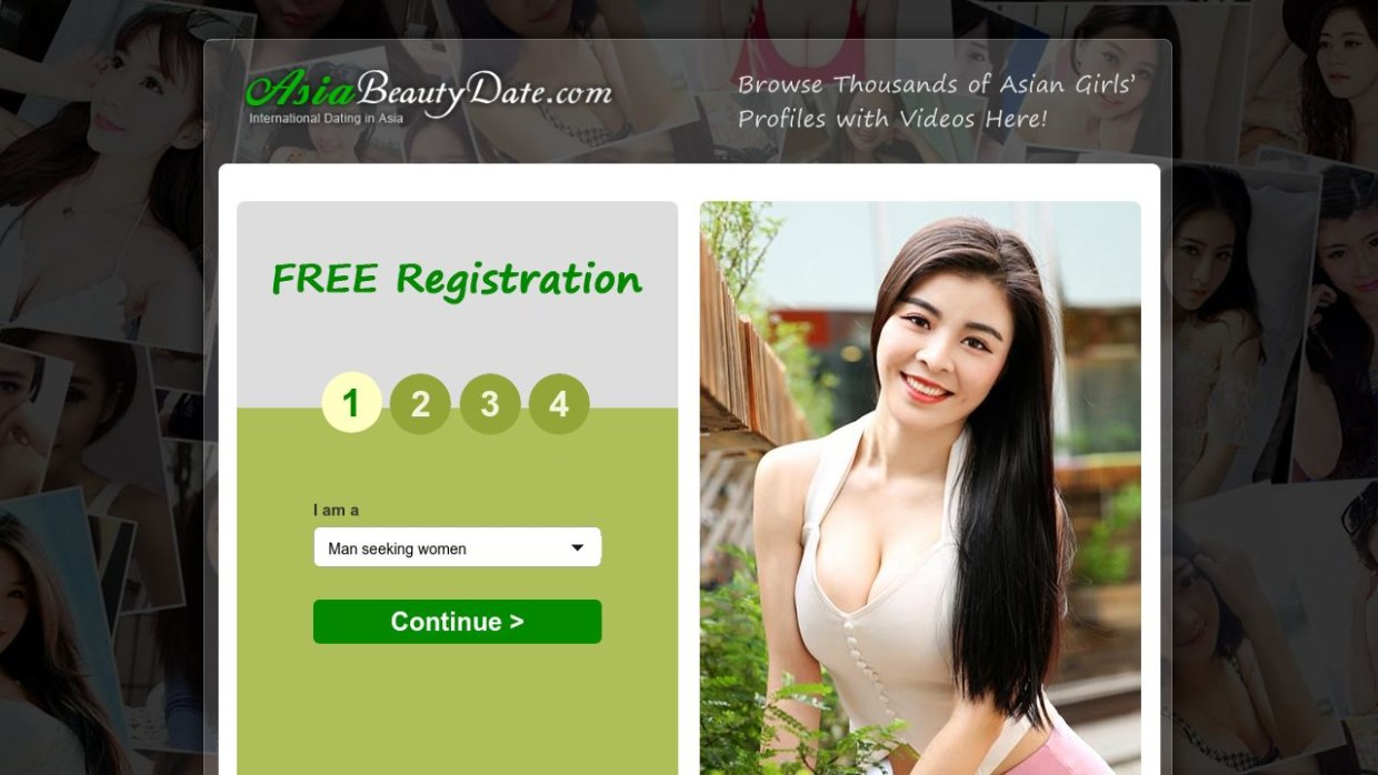 Asia Beauty Date Website
