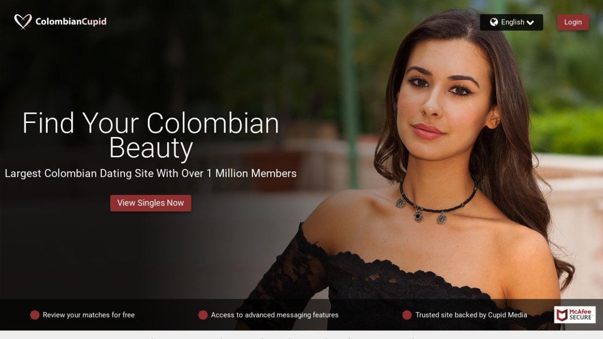 Colombian Cupid Website