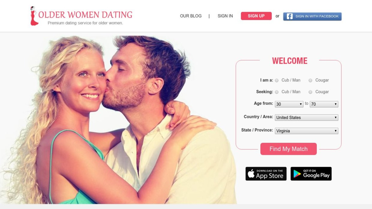 Older Women Dating Website Post Thumbnail